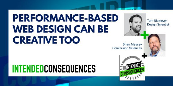 Pictures of Tom Niemeyer and Brian Massey of Conversion Sciences and the title Performance-based design can be creative too